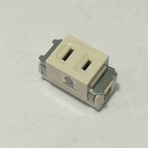single receptacle parallel