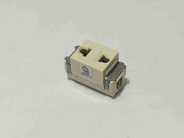 single receptacle universal slot