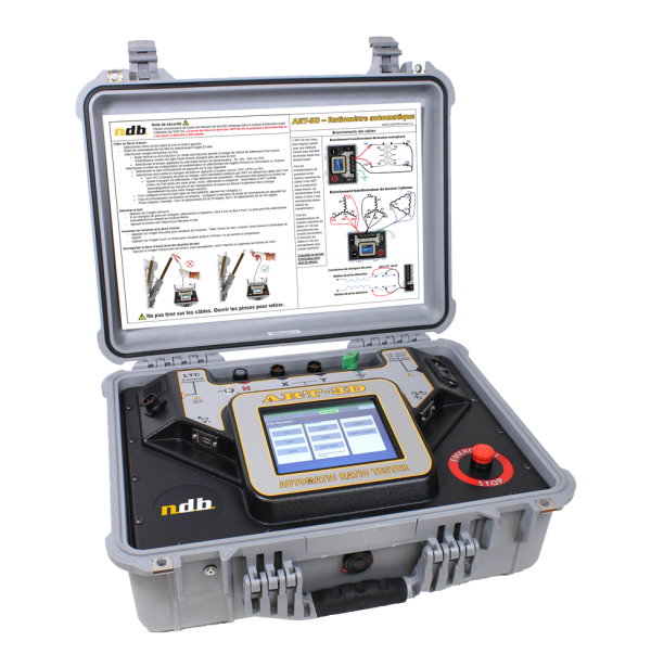 Real three phase automatic ratio tester for power transformer Model: ART-3D