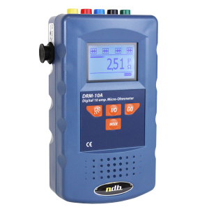 High precision digital 10A micro-ohmmeter Model: DRM-10A