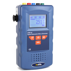 High precision digital 5A micro-ohmmeter Model: DRM-40