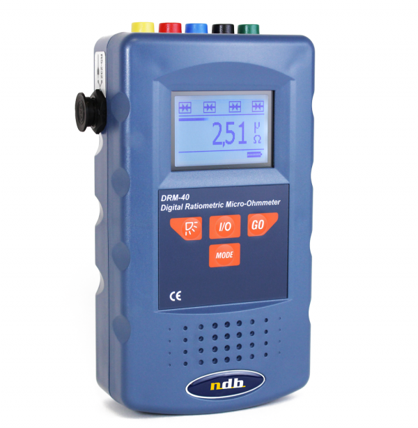 High precision digital 5A micro-ohmmeter Model: DRM-40