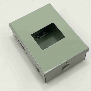 Nema 1 Enclosure for TQC - 3 Pole - Powder Coated GA.20