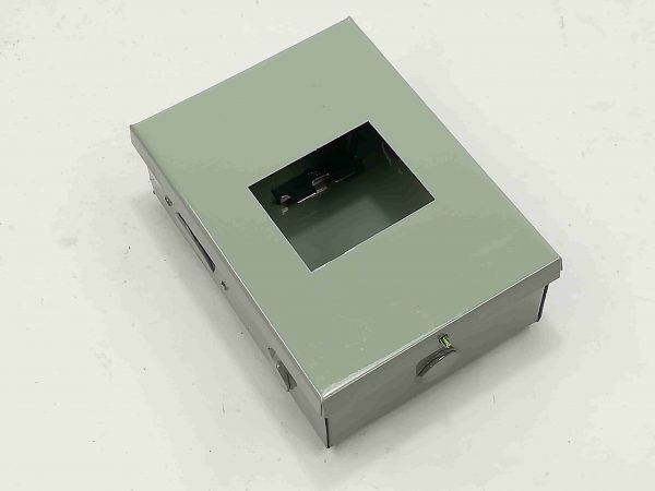 Nema 1 Enclosure for TQC - 3 Pole - Powder Coated GA.20