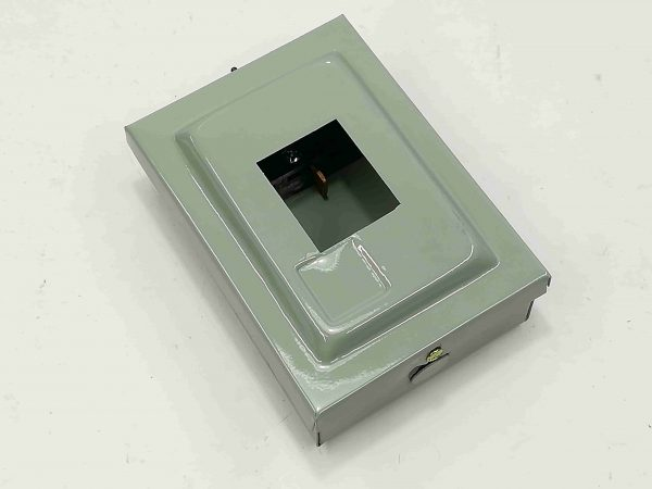 Nema 1 Enclosure for TQL - 2 Pole - Powder Coated GA.20