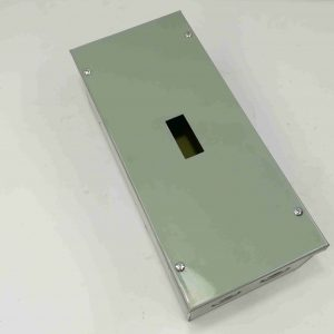 Nema 1 Enclosure for TQD - Combination 2 Pole & 3 Pole - Powder Coated GA.20