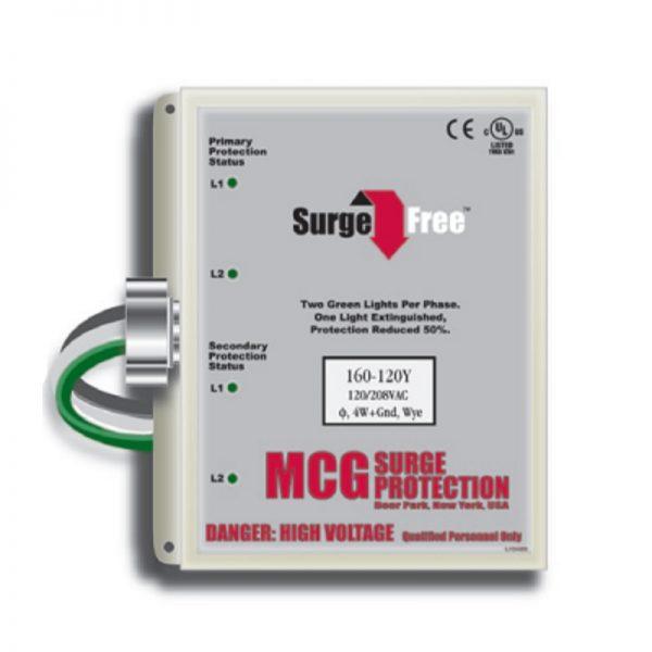 MCG Surge Arrester AC Protection Service Entrance SPD – 160 & 120 Series