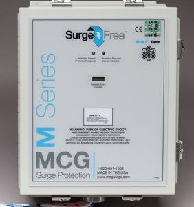 MCG Surge Arrester AC Protection Service Entrance SPD – SF 300LS Series