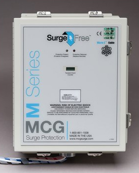 MCG Surge Arrester AC Protection Service Entrance SPD – SF 300LS Series