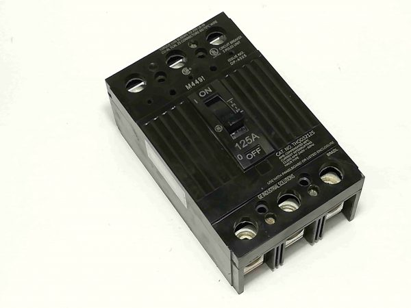 G.E. Circuit Breaker (TQD) - Bolt-On Type, 3 Pole, 240V