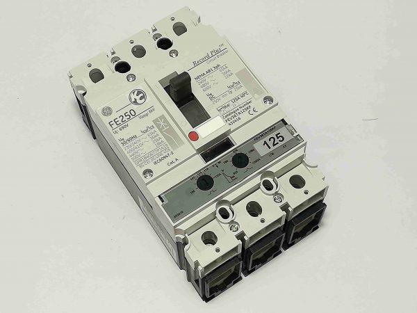 G.E. Circuit Breaker (FEV) - Molded Case Circuit Breaker, 3 Pole, 240V