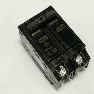 G.E. Circuit Breaker (TQL) - Plug-In Type, 2 Pole, 240V