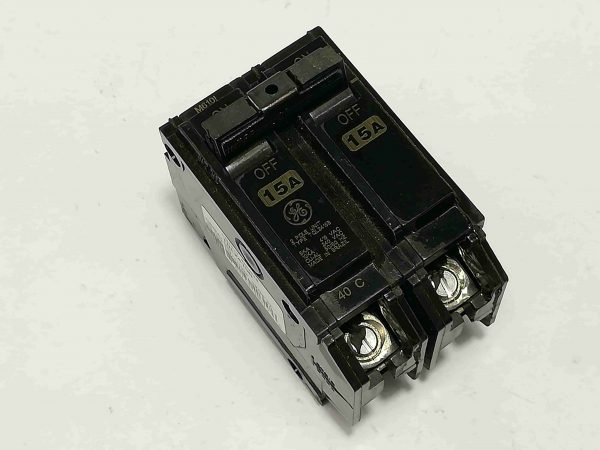 G.E. Circuit Breaker (TQL) - Plug-In Type, 2 Pole, 240V