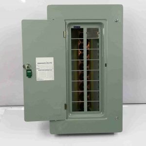 Panel Box 14 Branches - Main Breaker, 2 Pole, Plug-In Type - G.E Breaker TQL