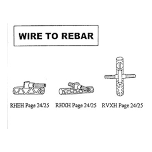 wire to rebar connection