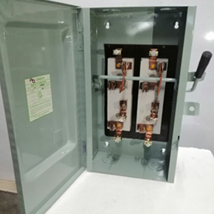 Safety Switch - 2Pole, Double Throw, In General Purpose Encl.