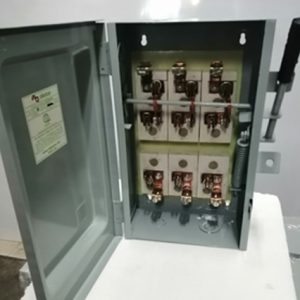 Safety Switch - 3Pole, Double Throw In General Purpose Encl.