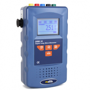 High precision digital 1A micro-ohmmeter Model:DRM-1A