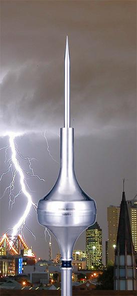 Duval Messien ESE Lightning Protection Solution Model: Satelit+ G2 2500