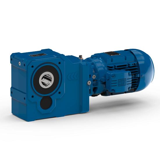 helical bevel gear motor