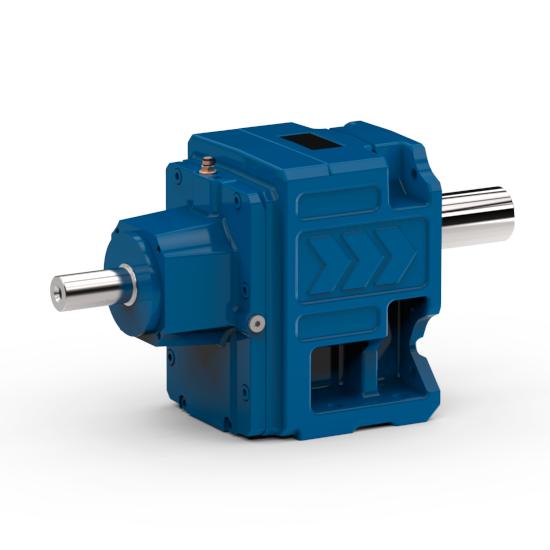 watt drive helical gear unit