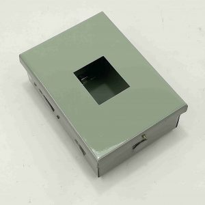 Nema 1 Enclosure for TQC - 2 Pole - Powder Coated GA.20