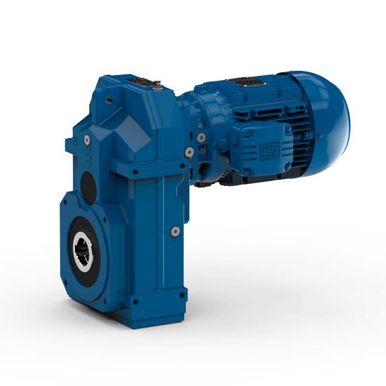 watt drive shaft mounted gear motor